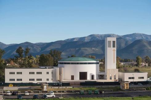La nuova chiesa di Santa Chiara-min